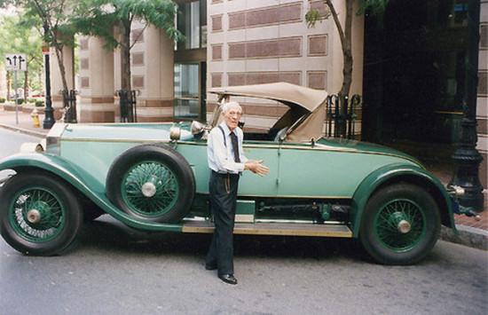 Аллен Свифт водил один и тот же Rolls-Royce на протяжении 82 лет, и автомобиль всё ещё на ходу