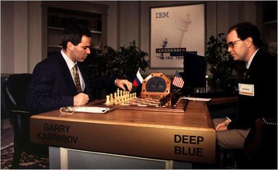 Возможно, Гарри Каспаров проиграл компьютеру из-за ошибки в программе