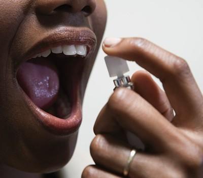 металлический запах во рту