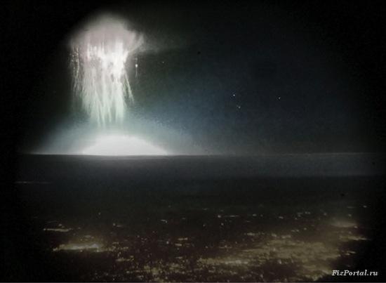 Существуют необычные молнии — «спрайты»