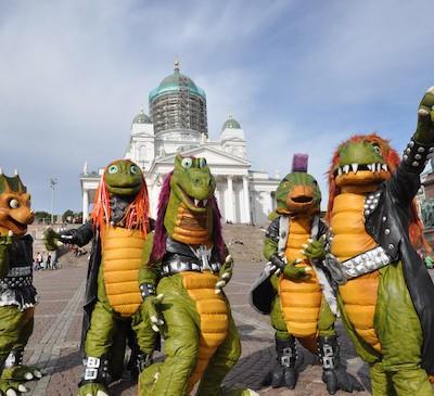 В Финляндии есть детская хэви-метал группа