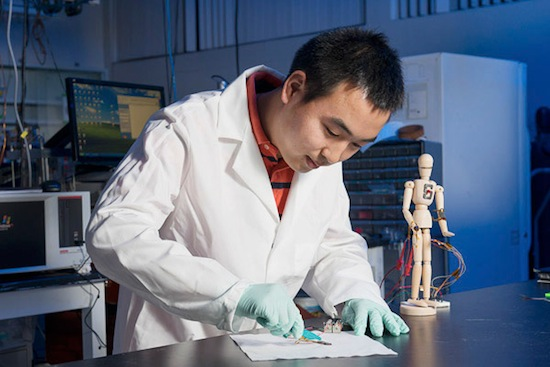 Учёные создали искусственную кожу, способную к быстрому самозаживлению