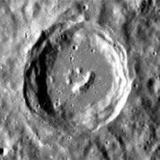 На поверхности Меркурия есть смайлик :)