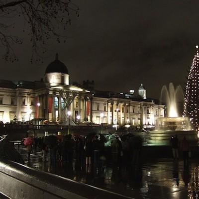 Каждый год Норвегия дарит Англии рождественскую ёлку