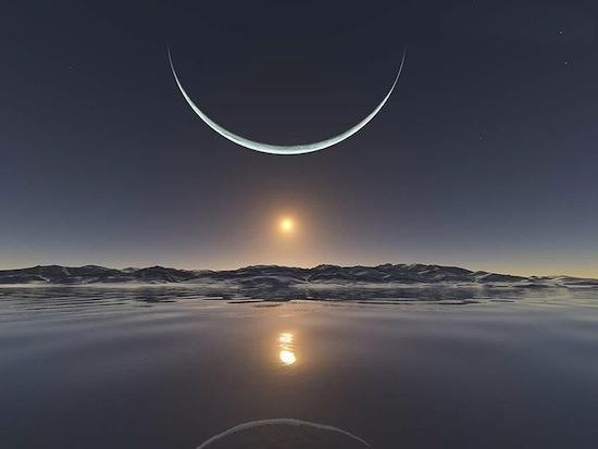 Северный полюс не имеет местного времени