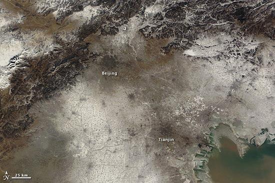 Большинство китайских городов переживают период наибольшей загрязнённости воздуха за свою историю