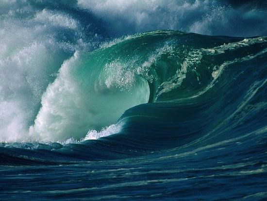 Цунами 2011-го года в Японии создало огромные дюны на дне океана