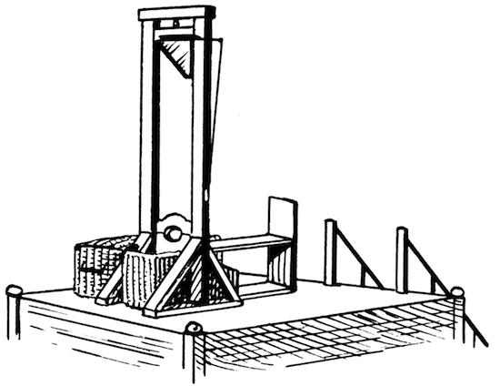 Французский химик Антуан Лавуазье после своей казни провёл научный эксперимент
