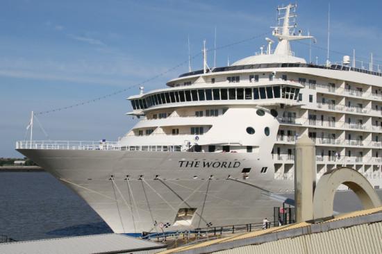 Существует пассажирский корабль-жилой комплекс