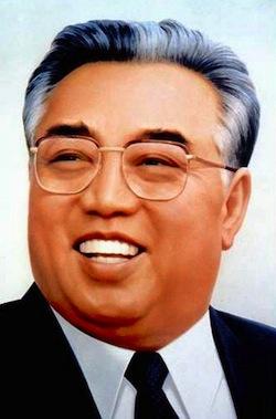 Хотя Ким Ир Сен умер в 1994-м году, он всё ещё является президентом Северной Кореи