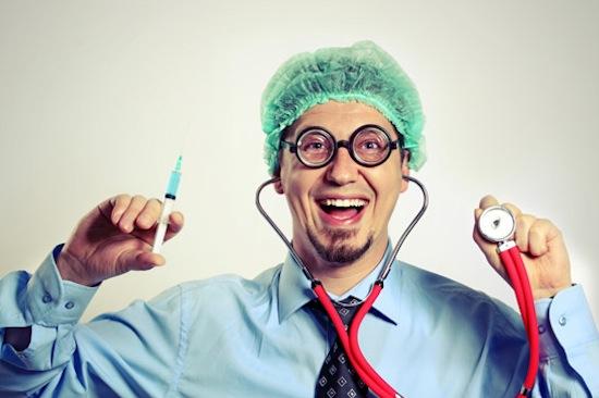 Если вы наденете халат врача, то будете лучше соображать