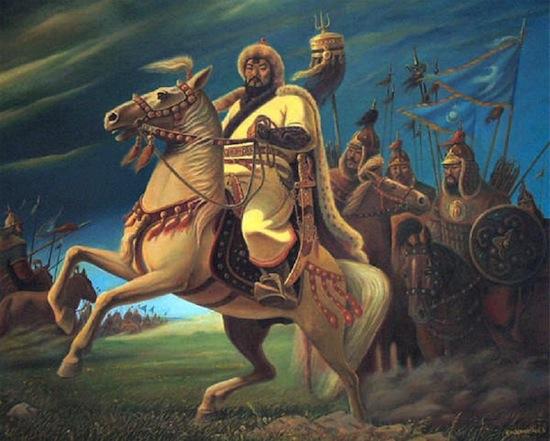 После завоевательных походов Чингисхана население Ирана смогло восстановиться только к середине 20-го века