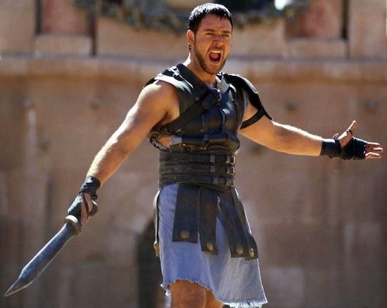 Пот гладиаторов использовался в Древнем Риме как косметические маски для лица