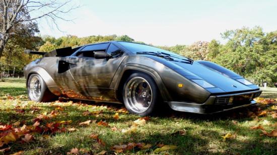 Кен Имхофф собрал с нуля Lamborghini в подвале собственного дома