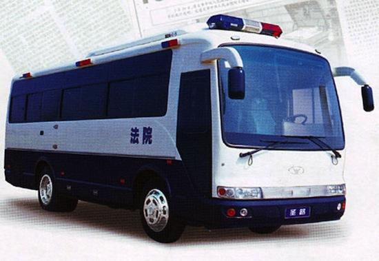В Китае есть мобильные камеры для казни смертников