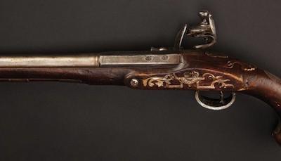 Знаменитый пистолет Джека Воробья с одной пулей — это настоящий пистолет 17-го века