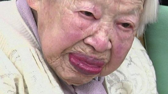 Старейшая жительница Земли — 114-летняя Мисао Оакава