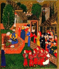 В Османской империи некоторые важные должности занимали рабы