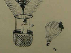 Самая странная дуэль в истории проходила на воздушных шарах