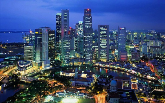 Больше всего миллионеров живёт в Сингапуре