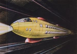 На гравитационном поезде вы могли бы попасть в любую точку Земли за 42 минуты
