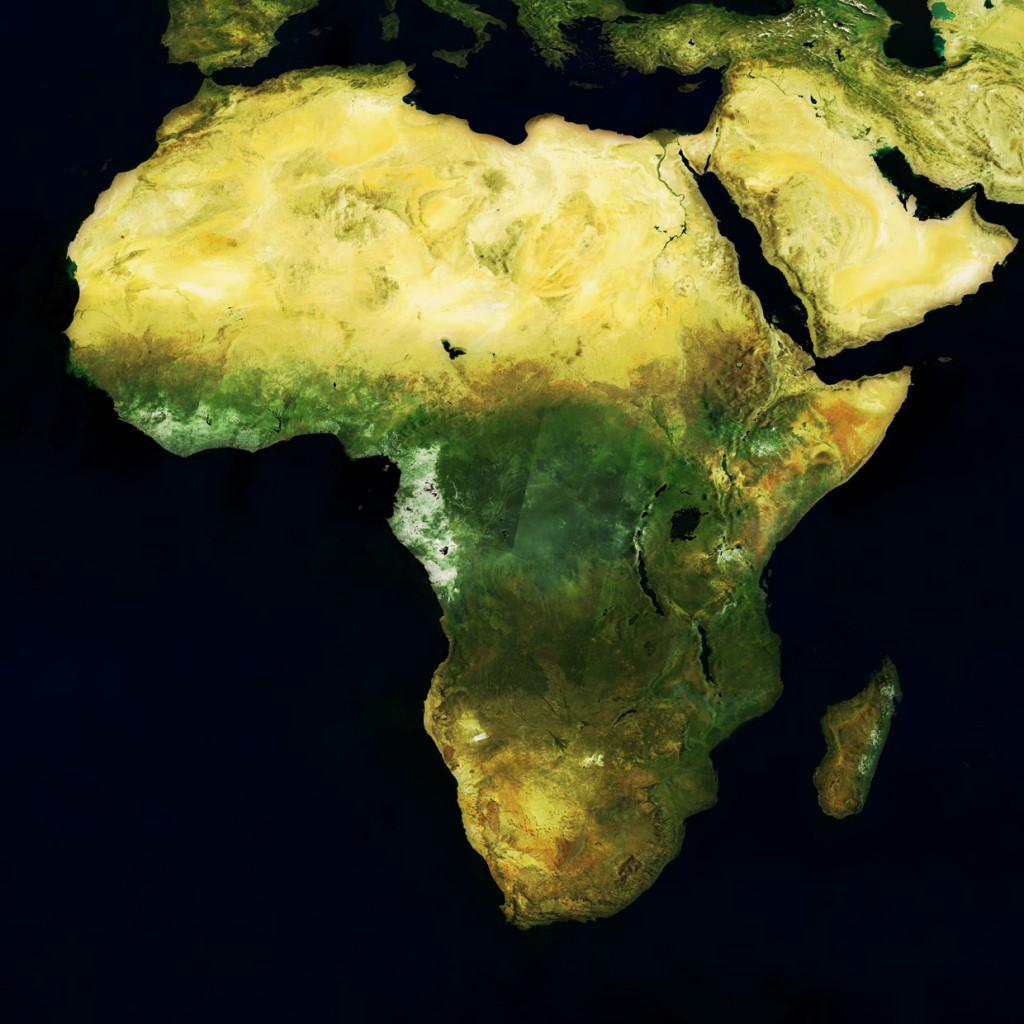 Несмотря на то, что на картах Африка выглядит не намного больше других континентов, она огромная
