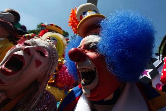 Согласно опросу, все дети боятся клоунов
