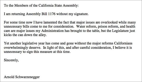 Арнольд Шварценеггер однажды адресовал законодателям акростих, где было зашифровано послание «f*ck you»