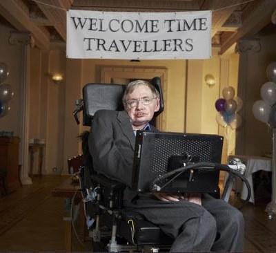 Однажды Стивен Хокинг устроил «Вечеринку для путешественников во времени», куда пригласил гостей после окончания