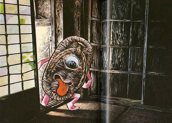 В японском фольклоре вещь, просуществовавшая 100 лет, оживает и обретает сознание
