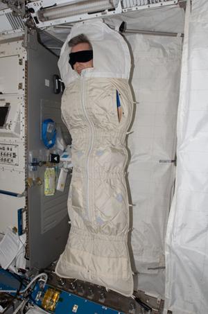 Узнайте, как спят астронавты на МКС