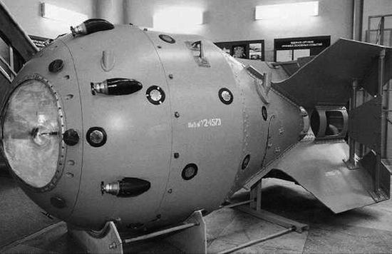 Где-то в океане потеряны 92 ядерных бомбы