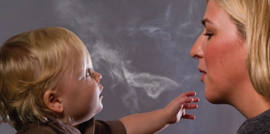 Дети-пассивные курильщики более агрессивны