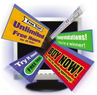 Самая назойливая реклама в интернете — всплывающие окна. Согласно опросу, она раздражает 90% пользователей