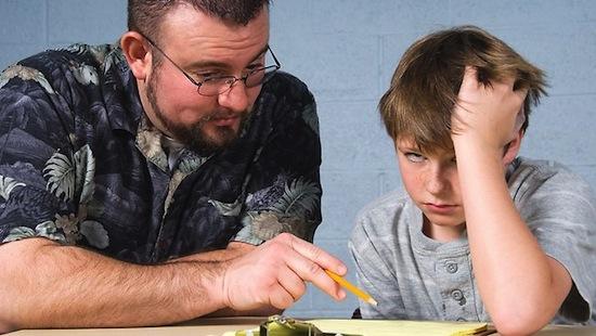 Домашние задания не влияют на успеваемость учеников