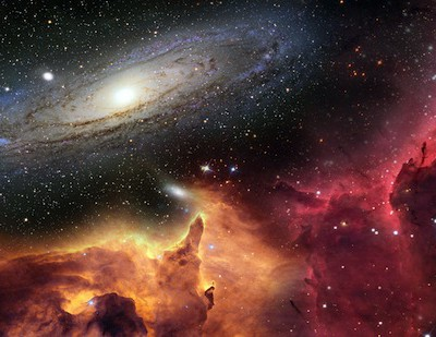 Новая теория гласит, что Вселенная не расширяется, а просто «заплывает жиром»
