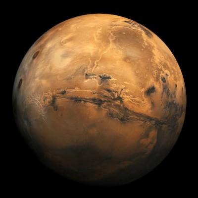 Таким астронавты увидят Марс, когда прилетят на него
