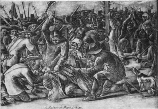 В 1672-м году разъяренная толпа голландцев убила и съела своего премьер-министра