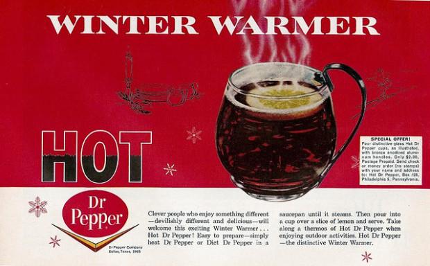 «Доктор Пеппер» можно пить горячим