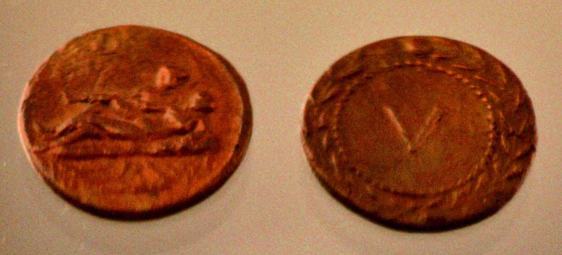 На некоторых древнеримских монетах изображали половой акт