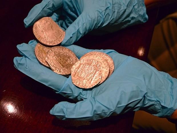 На дне моря нашли полмиллиарда долларов золотыми и серебряными монетами