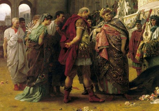 Нерон использовал горящих христиан в качестве садовых фонарей