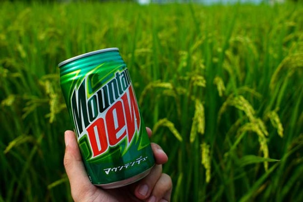 Напиток «Mountain Dew» изначально был придуман, чтобы смешивать его с виски