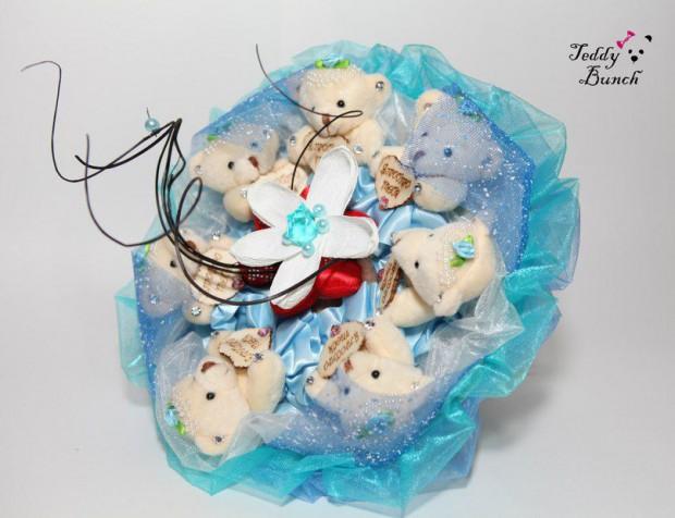 Букет из игрушек – оригинальный и милый подарок