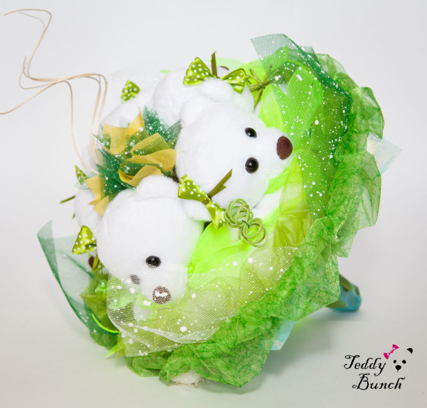 Букет из игрушек — оригинальный и милый подарок