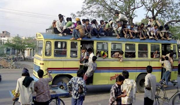 Штраф за проезд без билета в некоторых штатах Индии — стерилизация