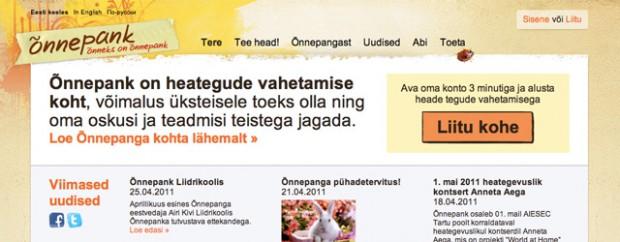 В Эстонии есть Банк счастья, в котором вместо денег — добрые дела