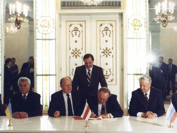 Документ о распаде Советского Союза бесследно исчез