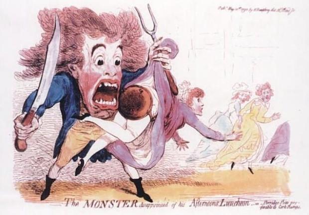 В XVII-м веке по Лондону бродил маньяк, шлёпающий женщин по ягодицам