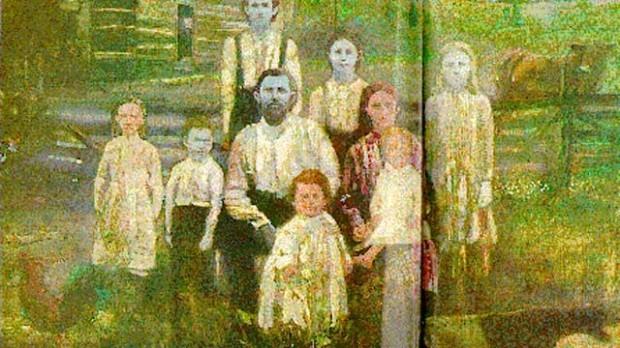 В штате Кентукки когда-то жила семья с синим цветом кожи